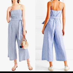 J CREW Linen Jumpsuit